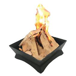 """12"""" Square Camping Wood Burning Outdoor Fire Pit"""