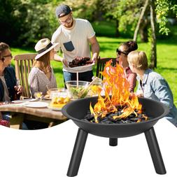 22inch Iron Fire Pit Bowl Black Color for Home Indoor Supply