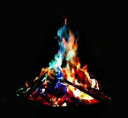 25g Magical Fire Colorful Flames Rainbow Bonfire Camping Add