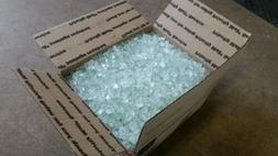 30 lbs, 1/2inch Paradise white Crystal fire glass,firepit, f