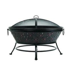 """Extra Large 35"""" Outdoor Wood Burning FirePit-US Supplier"""