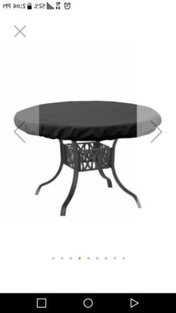 40 inch  CIRCLE fire pit table FURNITURE cover NEW all weath