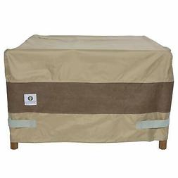 40x40 Tan Brown Fire Pit Cover Square Outdoor Protective Fir