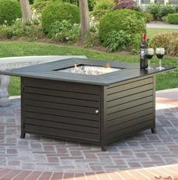 Best Choice Products 45x45 Fire Pit Table Extruded Aluminum