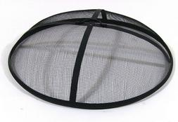 Sunnydaze 36 Inch Fire Pit Spark Screen, Round Cover