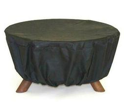 """Patina D100 All-Weather Fire Pit Cover in Black - 32"""""""