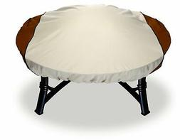 Astor Custom Fit Fire Pit Cover, Fits Round Fire Pits up to