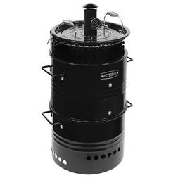 Barrel Pit Charcoal Smoker Grill BBQ Pizza-Oven Fire Pit Ute