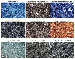 BLOWOUT SALE FIREGLASS - 9 COLORS TO CHOOSE 10 LBS Glass for