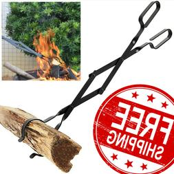 New Campfire Tongs Fireplace Log Grabber Fire Pit Tools 26 I