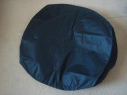 Patina Products D100 All-Weather Fire Pit Cover in Black - f
