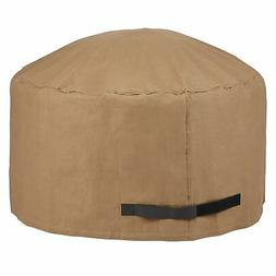"Duck Covers Essential Round Fire Pit Cover - 44""DIA x 24""H L"