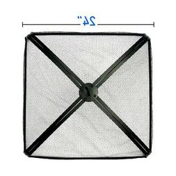 EasyGo 24 INCH SQUARE FIRE SCREEN – FIRE PIT COVER – FIR