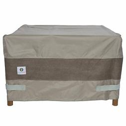 Duck Covers Elegant Square Fire Pit Cover 50-Inch 50L x 50W