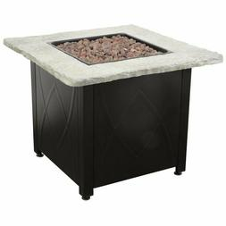 """Endless Summer Decorative 30"""" Outdoor Gas Fire Pit"""