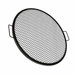 Fire Pit Grill Cooking Grate Outdoor Campfire BBQ Grill Roun
