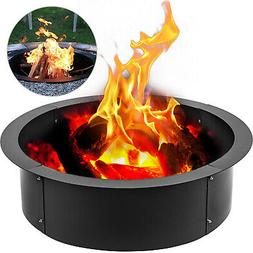 """Fire Pit Ring/Liner Campfire Pit 42""""Outside Heavy Duty Met"""
