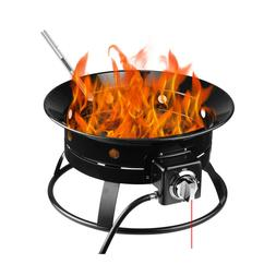 Firebowl Outdoor Portable Propane Gas Fire Pit Bowl 19-Inch