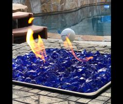 Fireplace Crystals Extreme Temperature Rating Fire Pit Glass