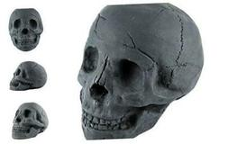 Fireproof Imitated Human Fire Pit Skull Gas Log for NG, LP W