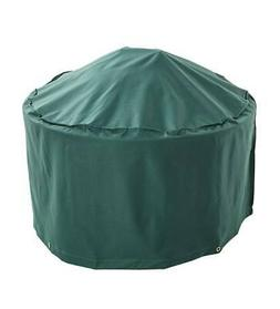 Outdoor Furniture All-Weather Fire Pit Cover, in Green