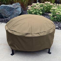 Sunnydaze Heavy-Duty Weather-Resistant Round Fire Pit Cover