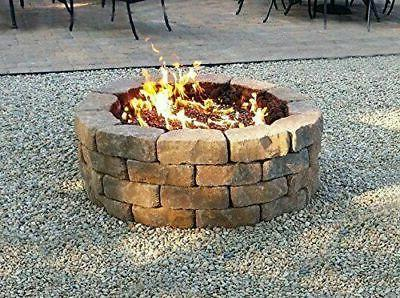 """Onlyfire 12"""" and Round Pit Burner Ring, Double Ring"""