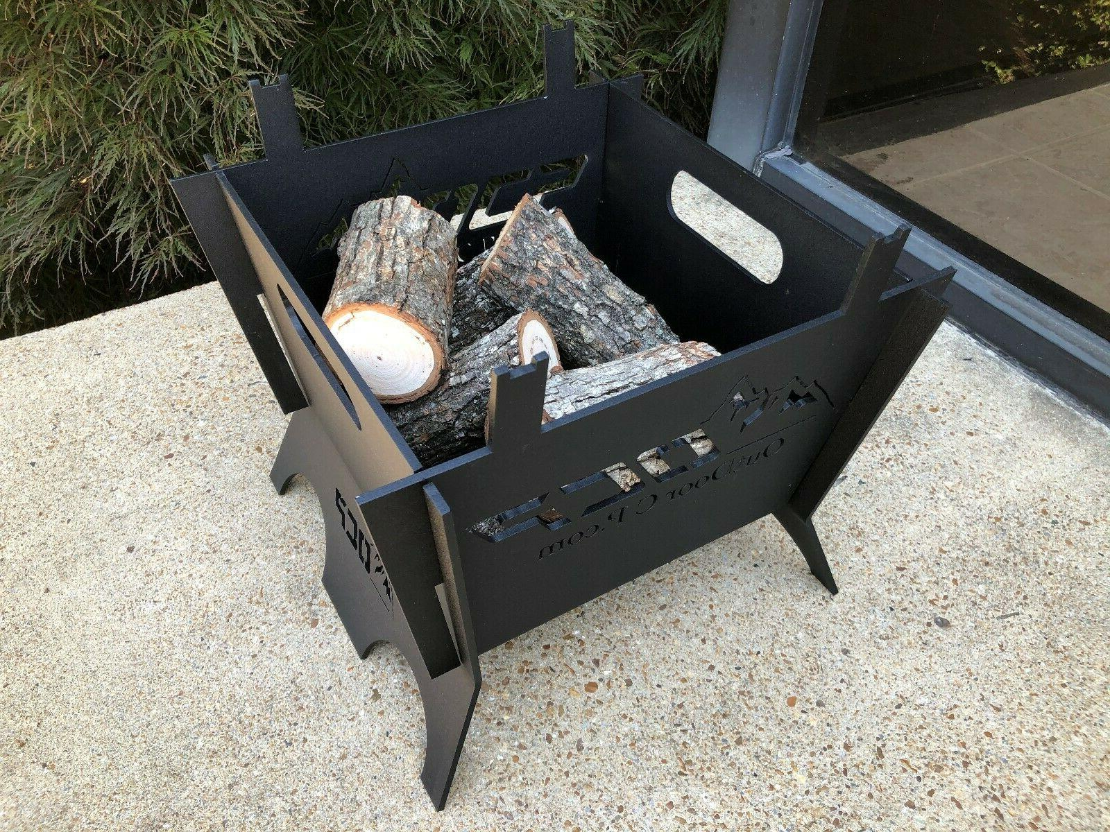 Outdoor Custom Square Portable Pit