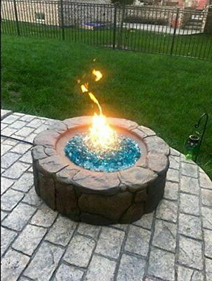 """Onlyfire 12"""" and and Round Fire Burner Ring, Ring"""
