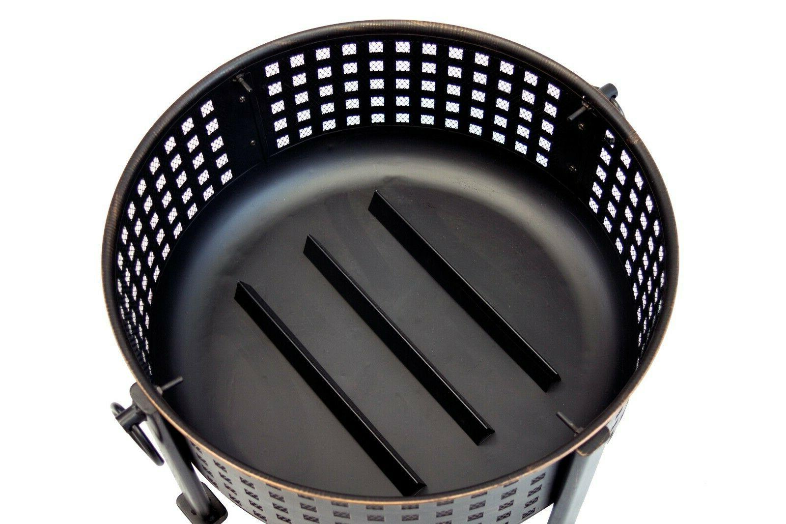 """30"""" Deep Ring Round Cooking Grid"""
