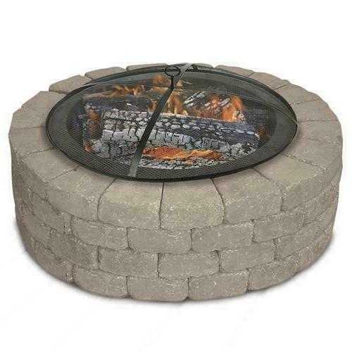 """31"""" Fire Pit Outdoor Wood Burning Cover"""
