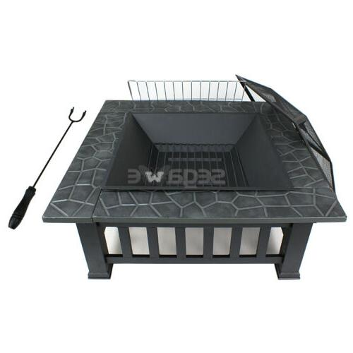 """Outdoor 32"""" Backyard Stove Fire Cover"""