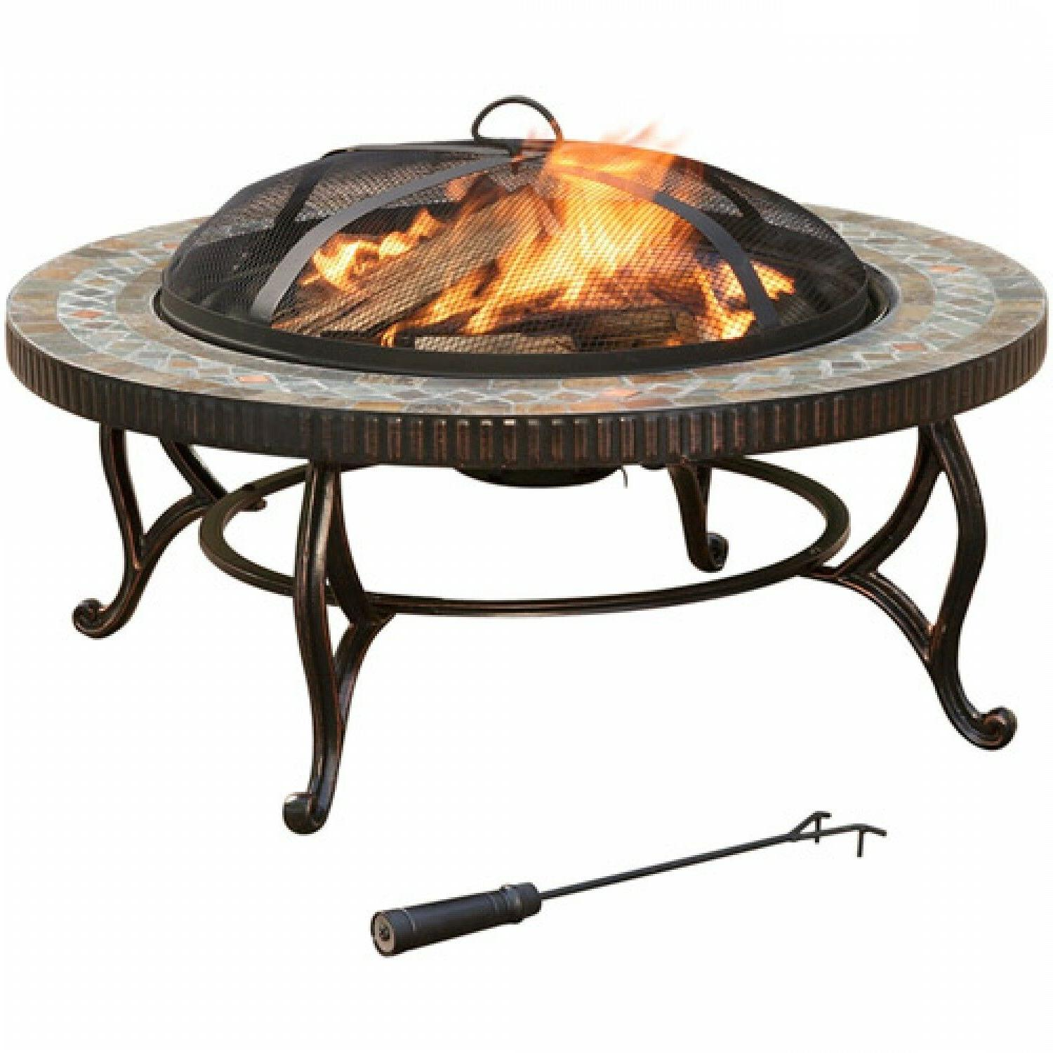 Pleasant Hearth Natural Slate Outdoor Rubbed