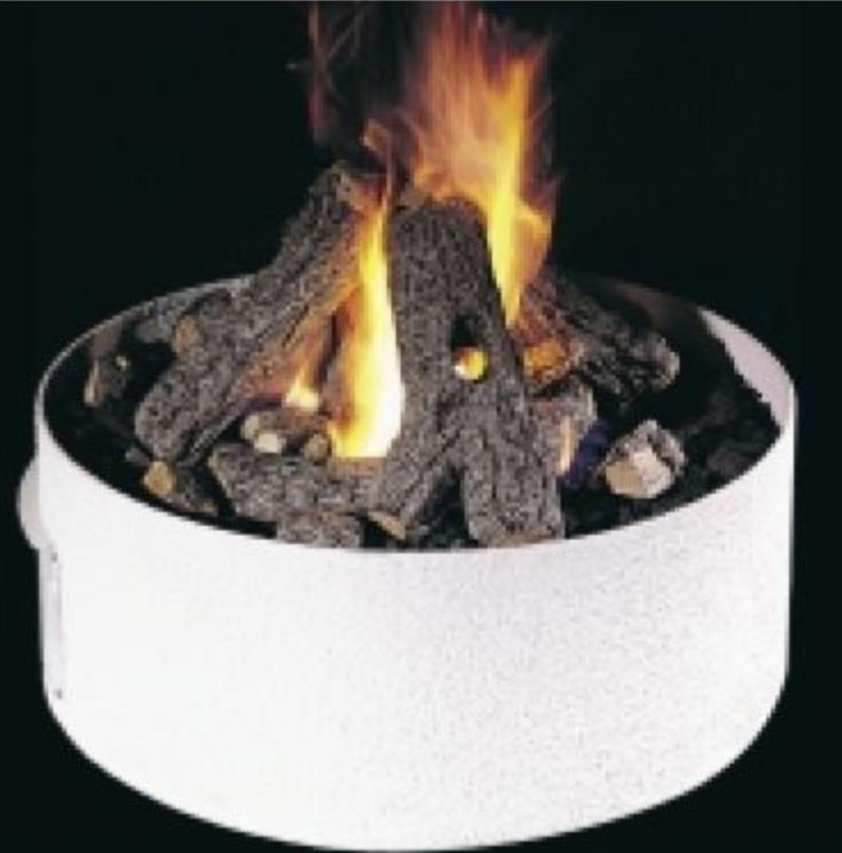 34 fire pit base natural gas