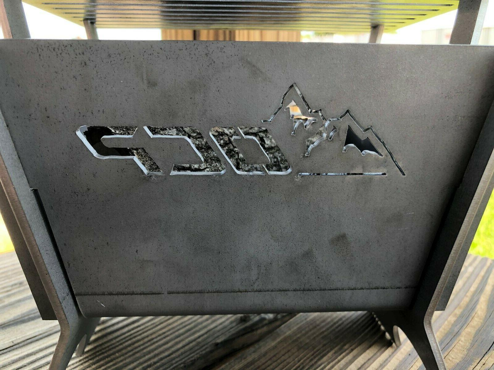 Outdoor Square Portable Pit Firepit