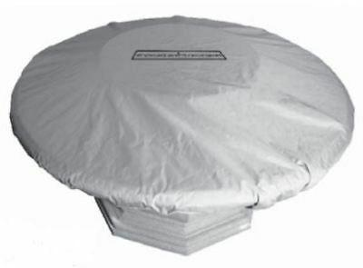 American Fyre Designs Amphora Cafe Blanco Fire Table Cover -