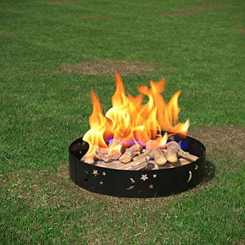 Regal Garden Star Moon Pit Fire RV, Fireplace. Works as Patio Heater, Firebowl without