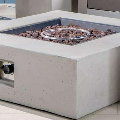 Cape Outdoor 5-piece V-shaped Set Fire Table