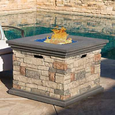 Chesney OutdoorOutdoor Fire Pit Knight Brown