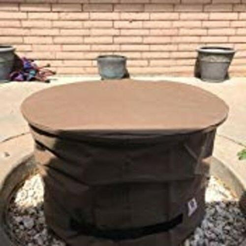 Elite Round Fire Outdoors Cover Water Fabric Material