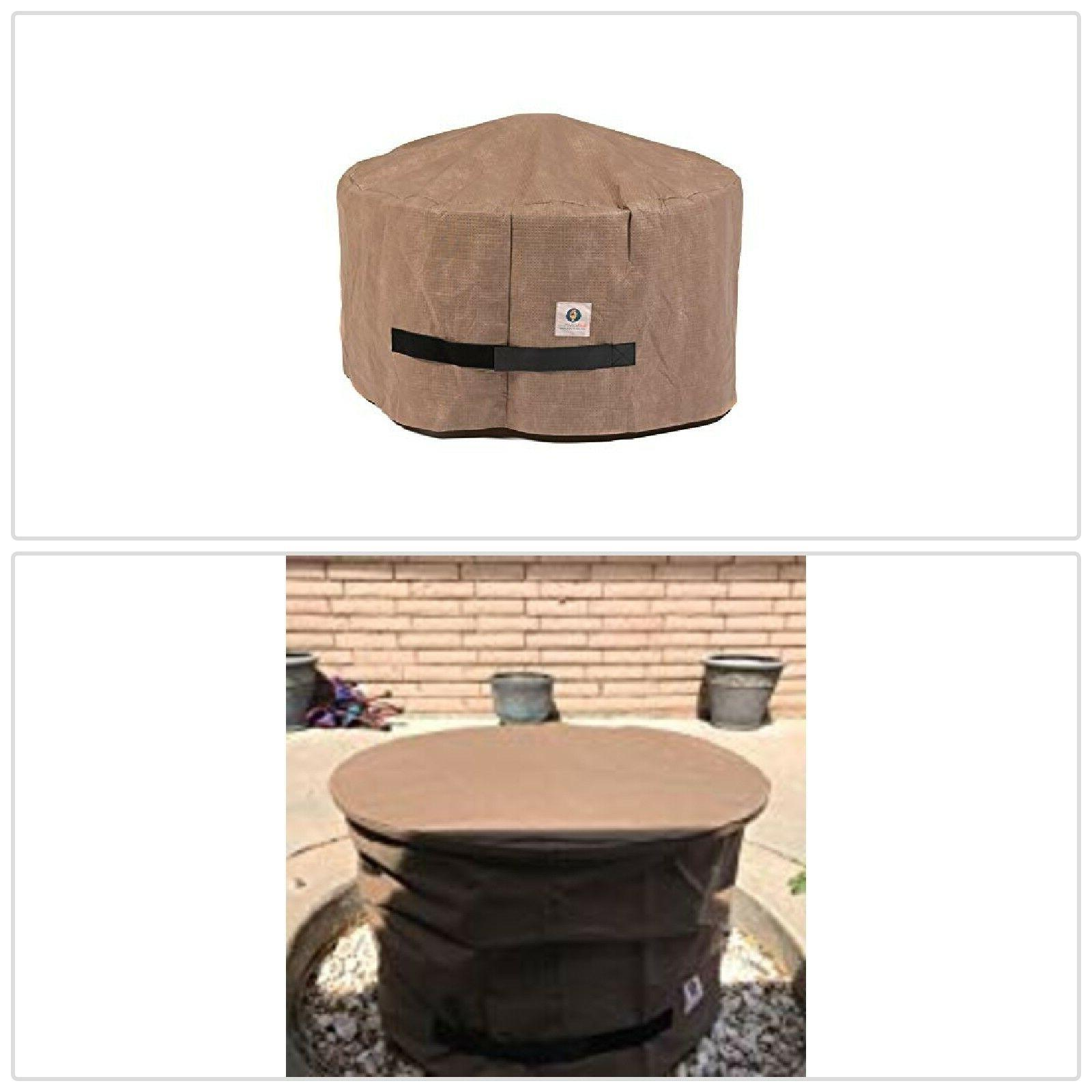 Elite Round Fire Pit Outdoors Resistant Fabric Material