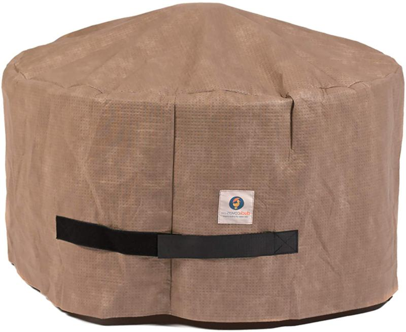 Duck Covers Elite Water-Resistant 36 Inch Round Fire Pit Cov
