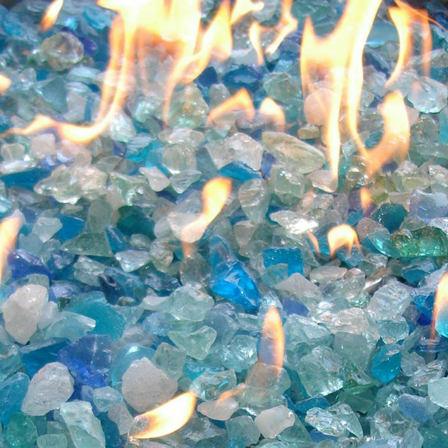 Fire For Outdoor Propane Fireplace Crystals 10 lbs