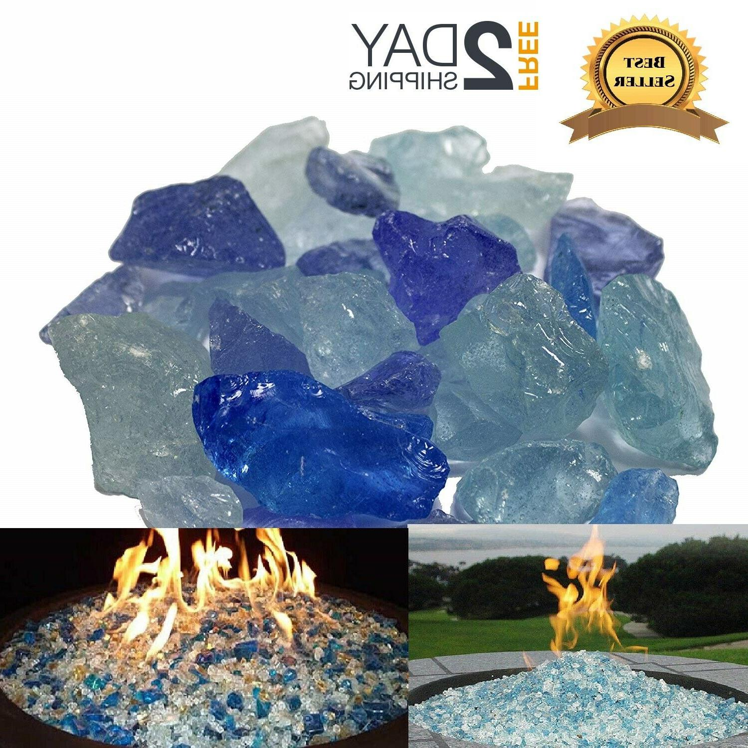 fire pit glass rocks for outdoor propane