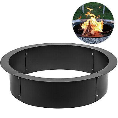 36 diameter steel fire pit liner ring