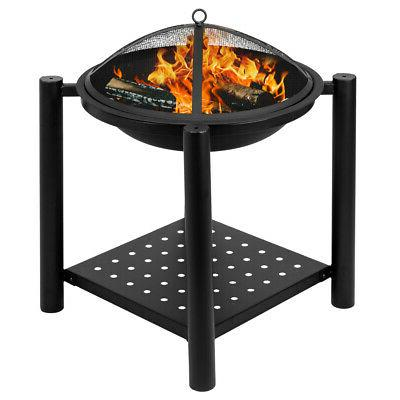 fire pit square patio garden heater outdoor
