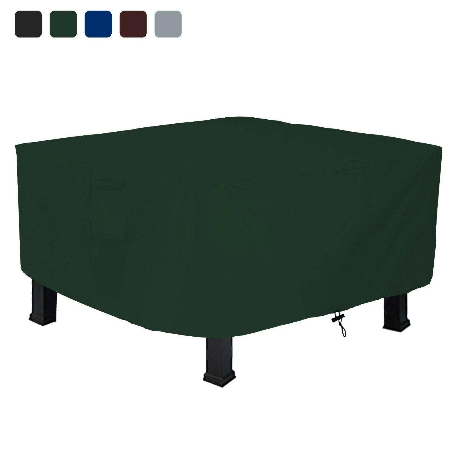 firepit cover square 18 oz waterproof uv
