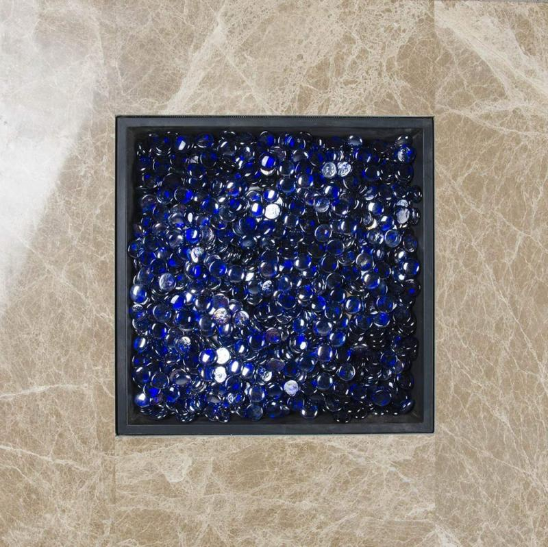 Rock Glass for Gas Pit Heat Resistant