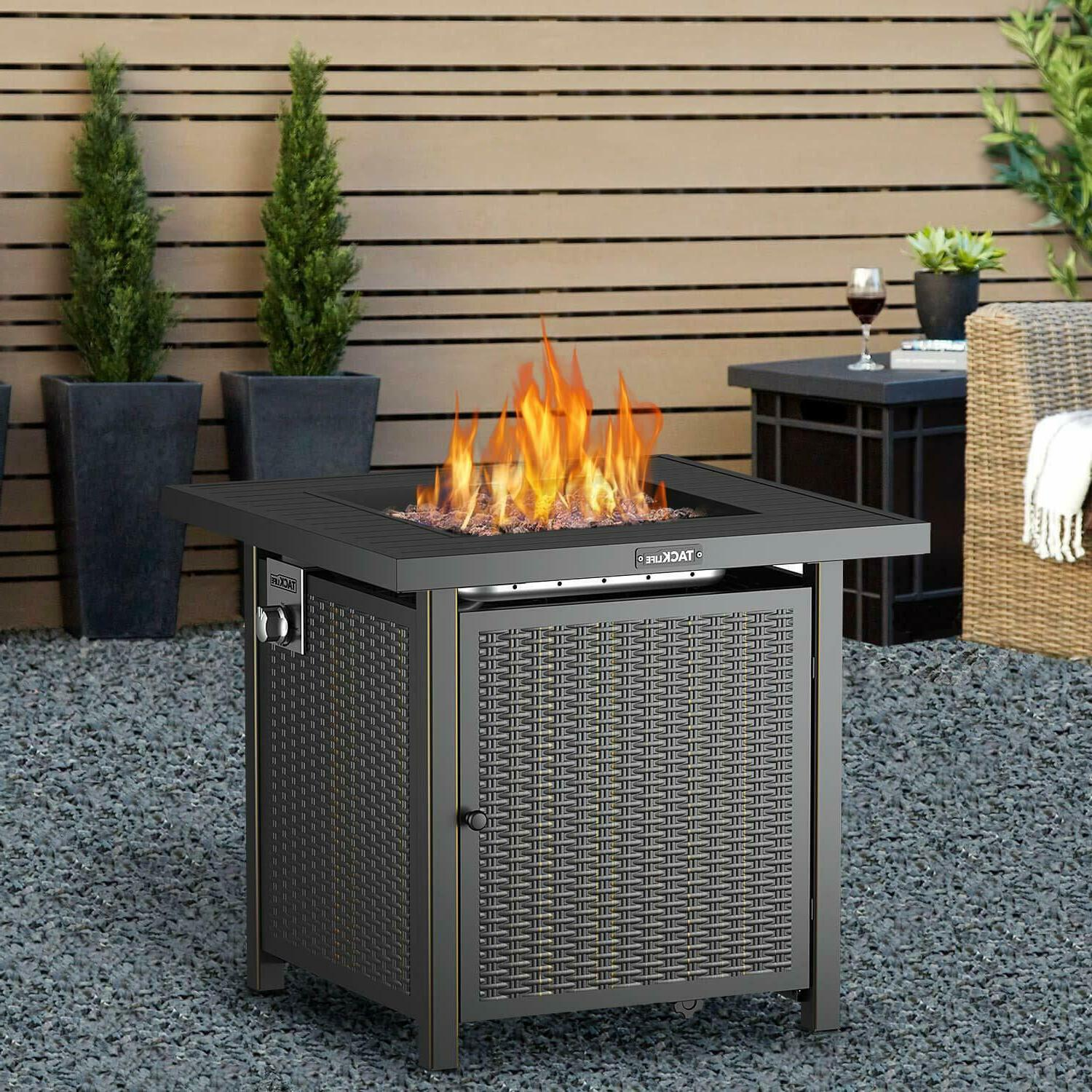 BBQ Propane Fire Pit Table Garden Cooking Party Camping Stove