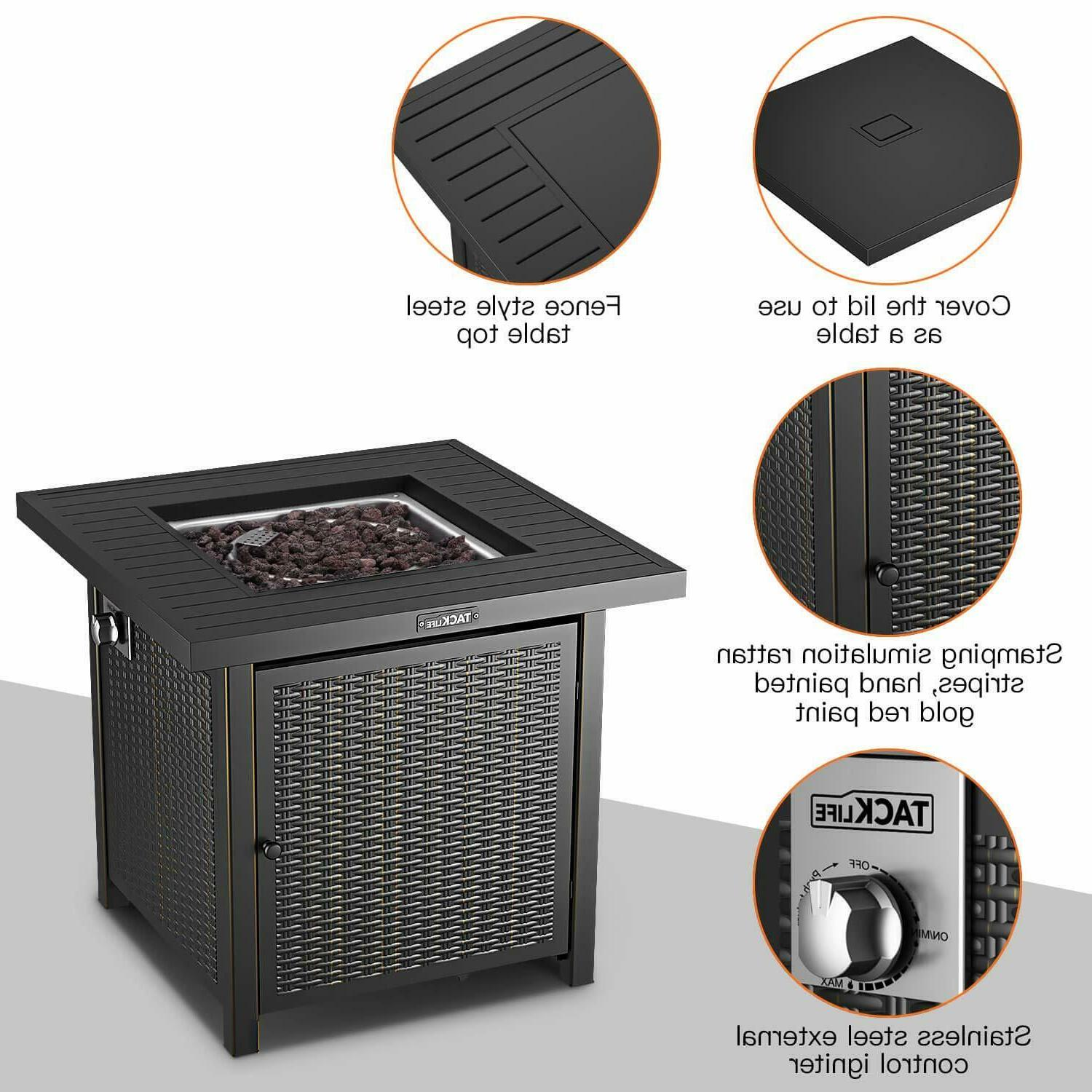 BBQ Pit Table Yard Cooking Stove